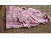 Girls dressing gown for sale 7-8 years old