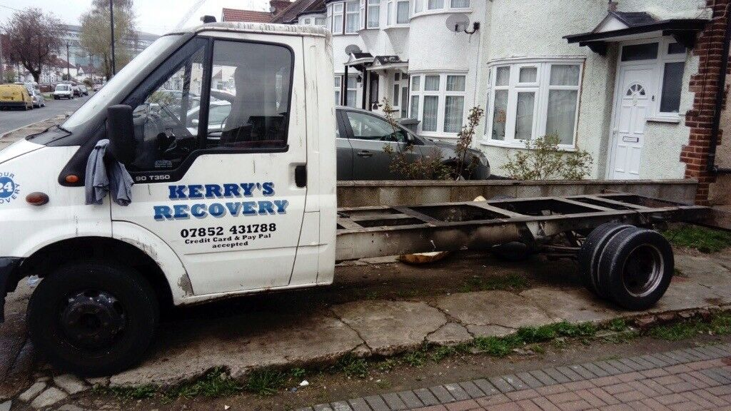 Ford Transit Cab And Chassis Spares Or Repairs No Engine Or Gearbox