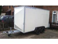 BOX TRAILER 12.feet long x 6 feet.5.inches high x 5.feet 2.inches wide