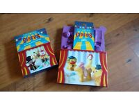 Cake moulds & cookie cutters, set of 2, baking supplies, circus themed, brand new!