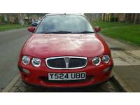 Rover 25 50000 low millage 12 months mot drives like new very realible