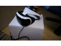 Playstation 4 VR mint condition £300 ono