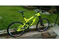 commencal meta sx1 mtb full suspension mountain bike