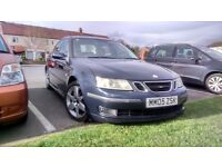 Saab 9.3 Vector Sport turbo diesel, low mileage, swap for MPV, SUV, MINI BUS, VAN or a small car