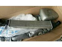 Fiesta st intercooler with all hoses