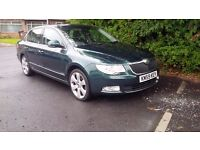 SKODA SUPERB ELEGANCE DIESEL AUTO 170 bhp, 2.0, TDI CR - top spec in power, trim and many extras