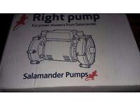 Brand new salamander RHP 50 shower pump