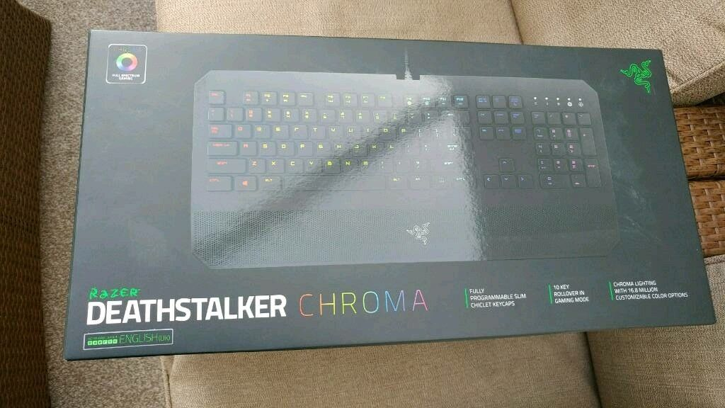 4ffa1af2796 Razer Deathstalker Chroma Keyboard | in Huddersfield, West ...