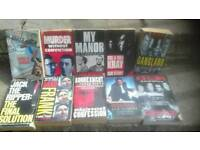 Collection of 10 TRUE CRIME books