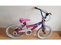 Ammaco Charm Girls bike. (Suit: 6 yrs to 8 yrs).