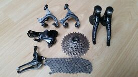 Shimano Ultegra 11 speed groupset 6800 shifters sti no chainset