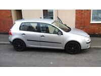 VW Gold 1.9tdi a brilliant reliable car with low diesel miles Part service and mot unitl December