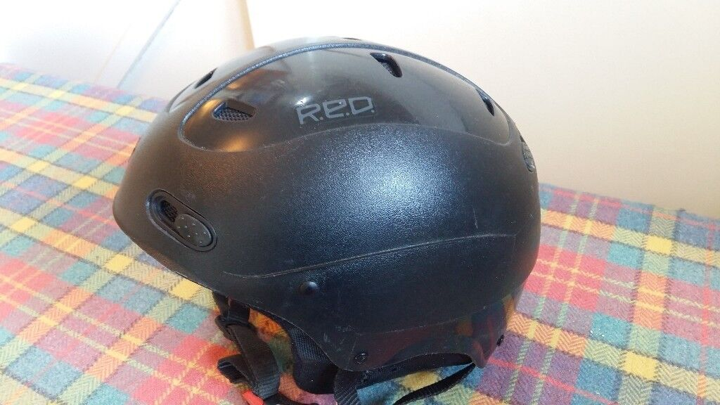 RED Snowboard Helmet