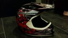 Motocross helmet small.. bike car