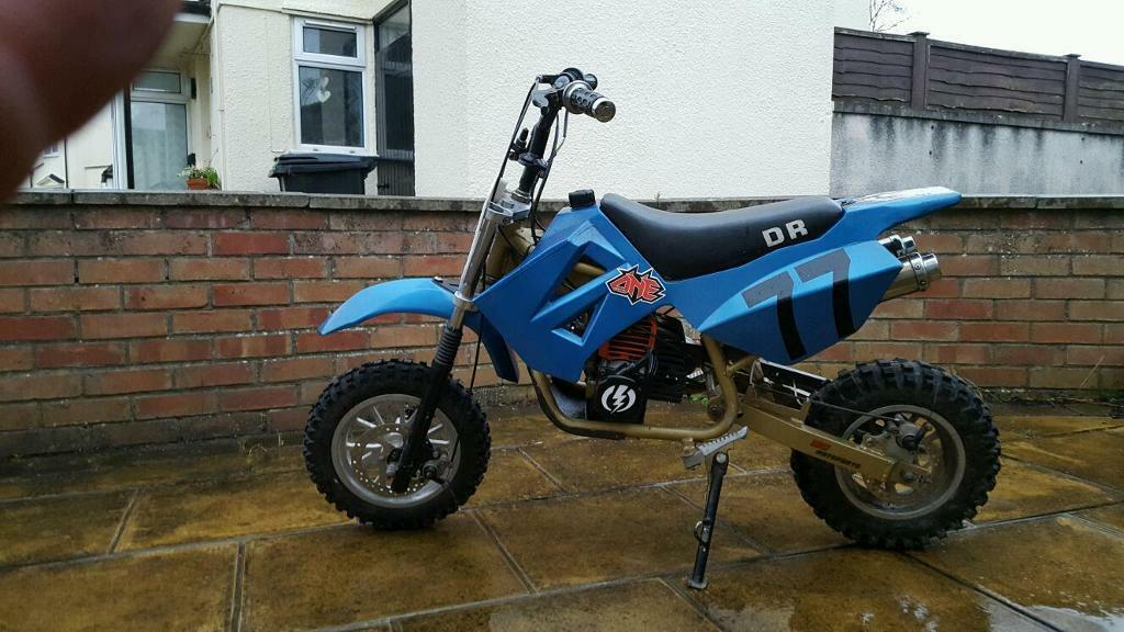 mini moto midi pit dirt bike dr50 in weston super mare somerset gumtree. Black Bedroom Furniture Sets. Home Design Ideas