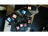 Selection of mobile phones
