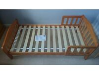 Mothercare Darlington Toddler Bed - Antique.