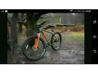 Carrera vendetta downhill mountain bike 4 months old in good condition