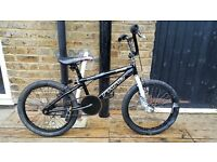 "Boys 20"" Wheel Black BMX Bike"