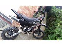 Super stomp yx 140 pit bike not cr kx rm yz demon lifan thumpstar
