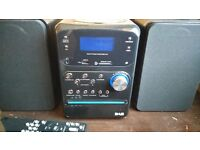 DAB RADIO CD STEREO BY RED.