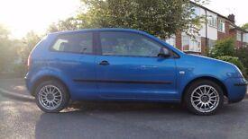 VW Polo S (9N) - 2003, 1.2L, 99K Mileage - £850