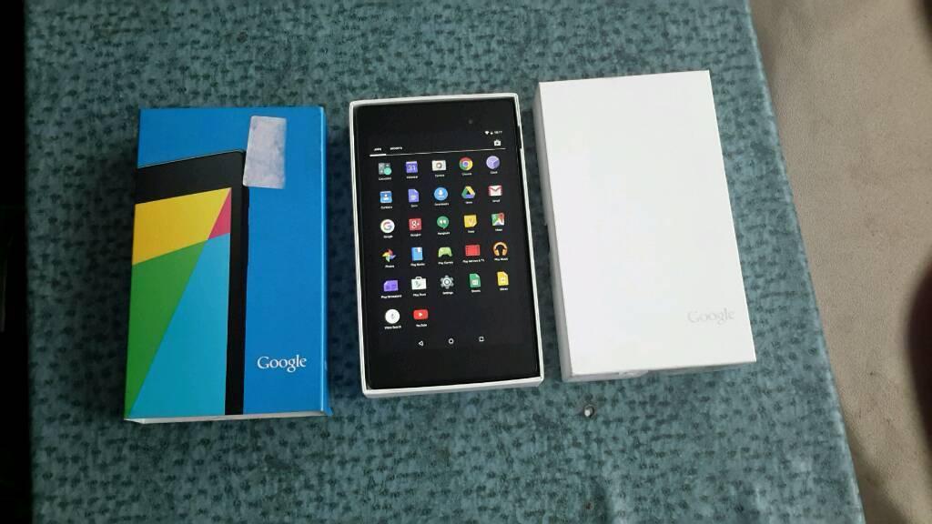 """Asus nexus 7 """" tablet 16gb good condition"""