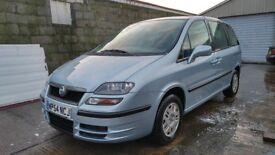 Fiat Ulysse 2004 2.0 diesel / Mot 03september2018 / millage :97400 ( 7 SEATER ) !!!