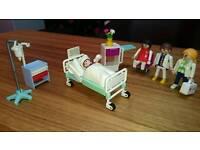 Small playmobil hospital set