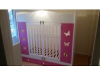 Andersons Themes & Dreams specially adapted butterfly bed