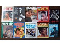 BRUCE LEE BOOKS/MAGAZINES #RARE#
