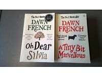 2 Dawn French novels, Oh dear Sylvia and A tiny bit marvelous