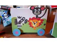 Childrens Toy Storage Box on Wheels 2 of them for sale