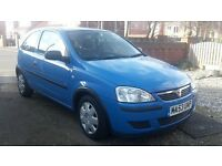 VAUXHALL CORSA 1.0, 53 REG 2004, FULL STAMPED SERVICE HISTORY