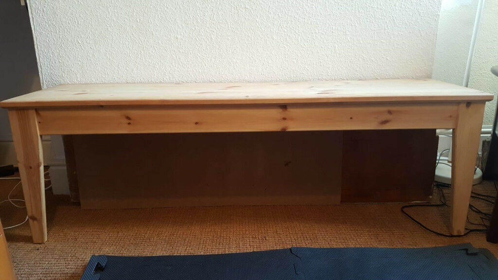 Ikea Nornas Bench Untreated Pine Good Condition Bought In 2017 Available Now