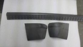 Plastic bummer trim for Ford transit connect