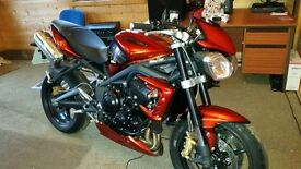 Triumph street triple for sale SUMMER IS HERE😀😀😀😀