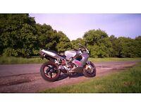 Ducati ST4s 996 cc Silver