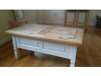 Various - coffee table, breakfast bar, microwave, bedside tables, desk