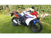£100 OFF - Black Friday Weekend - Honda CBR 125, 12 months Mot, perfect, free delivery & warranty