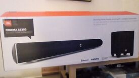 JBL SB350 2.1 SOUNDBAR WITH WIRELESS SUBWOOFER