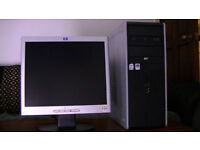 REDUCED IN THE SALE! Computer (H.P Tower,Monitor) With kodak printer