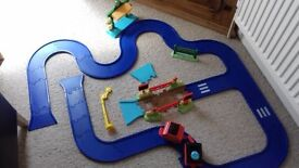 Happyland Track and carriages, cheap!