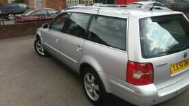 VW.PASSAT VR6-2.5TDI ESTATE 6-SPEED-2-KEY'S-FULL BHP.-12-MONTH MOT;-CHEAP;£725-T;07508435286
