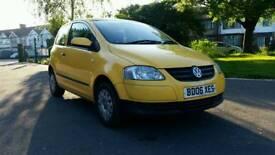 2006*VW FOX 1.2 URBAN FOX*1198CC*YELLOW*HPI CLEAR*2 KEYS*WARENTED MILEAGE