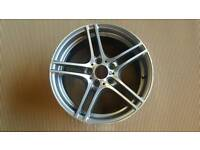 BMW 1 Series E81 E82 E87 E88 M LA Double Spoke 313 Alloy Wheel Rim Gloss Turned