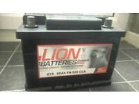 Lion Car Battery (O75 Battery 60Ah)