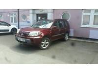Nissan x-trail 2.2 diesel with tow bar!!