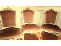 Set of 3 Classic Regal Chairs