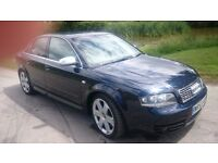 Audi s4 all usual extras climate control half leather etc